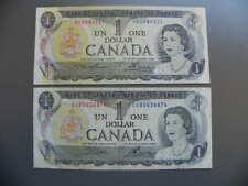 Kanada 2x 2 Dollars 1974 Different Signes