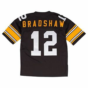 Terry Bradshaw Jersey Throwback Pittsburgh Steelers Mitchell Ness M&N XL 48 NWT
