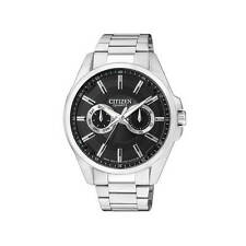 Brand New CITIZEN MEN'S WATCH AG8320-55E ALL STAINLESS STEEL BLACK DIAL