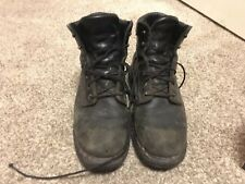 Red Wing 607 Black Work Boots Size 9e Super Sole
