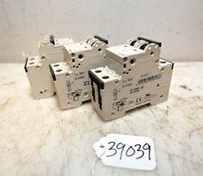 1 Lot of 3 Siemens Circuit Breakers (Inv.39039)