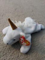 "Rare Ty Beanie Baby ""Mystic Unicorn"" w/ errors 1994 Style 4007- Mint Condition"