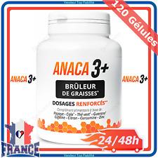 ANACA 3 + Brûleur de Graisses Régime Amincissement Perte Poids Curcuma ANACA3+