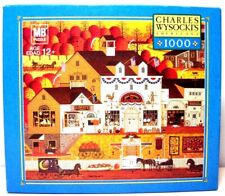 Jigsaw Puzzle MB/Hasbro 1000 pc Charles Wysocki OLDE AMERICA 2005 Complete