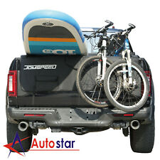 M//L Olive Evoc Tailgate Pad for Pickup Truck to Transport Bikes