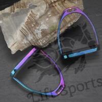 "5"" Rainbow Multi Color Horse Riding Safety Stirrups Irons Gloss Fillis English"