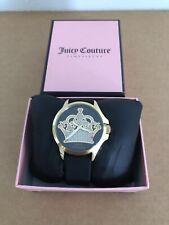 Juicy Couture Women's Jetsetter Analog Display Quartz Black Watch
