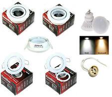 9 Watt LED Einbaustrahler Lana | 720 Lumen | 230Volt | Farbe Weiss