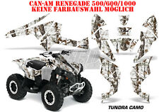 AMR Racing DECORO GRAPHIC KIT ATV CAN-AM Renegade, ds250, ds450, ds650 Tundra CAMO B