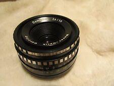 Meyer-optik Gorlitz Domiplan 50mm 1:2 .8 Lente Pentax M42 Montura Excelente Prime