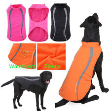 Winter Medium/Large Dogs Coats Waterproof Clothes Warm Pets Reflective Jackets