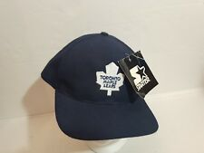 NWT NEW VINTAGE STARTER BASEBALL HAT CAP TORONTO MAPLE LEAFS NHL ADULT X LARGE