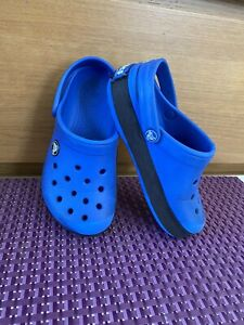 Kids Blue Crocs Size C10-11