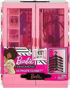 Barbie Fashionistas Ultimate Closet Portable Fashion Playset Toy GBK11 NEW