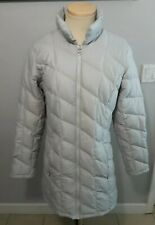 Women's Patagonia long lightweight coat parka goose down quilted Sz M