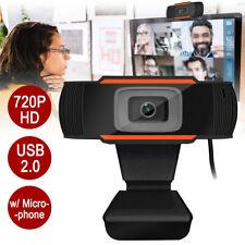 PC Webcam Web Camera 720P HD Cam Microphone For PC Laptop Desktop Auto Focusing