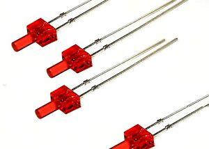 LED 2mm rot leuchtend / 4-19V rotes Gehäuse , kein Vorwiderstand nötig 20 Stück