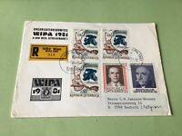 Austria Wipa 1981  Wien Registered stamps cover ref 50590