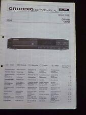 Original Service Manual Grundig CD 8150