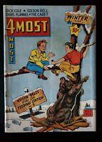4 MOST COMICS VOLUME 3 #1 (1944) ~ Golden Age ~Dick Cole