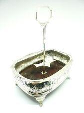 Antique Silver Condiment Stand, Sterling, Hallmarked 1818, Sarah John Wm Blake