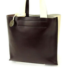 Furla Tote bag Beige Brown Woman Authentic Used Y1830
