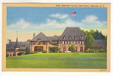 Postcard: Asheville Country Club House, N.C.