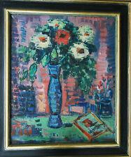 WOLFGANG Alexander *1894 Arnstadt +1970 Gera BLUMENIMPRESSION attraktiv stark