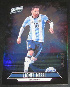 2018 Panini Father's Day Lionel Messi # 101/399 Base #14 Argentina