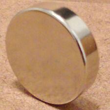 N52 Neodymium Cylindrical (1 x 1/4) inch Cylinder/Disc Magnet.