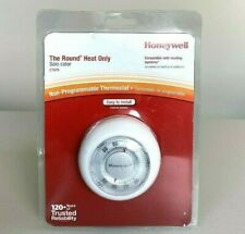 NEW Honeywell CT87K1004 Round Heat Only Thermostat