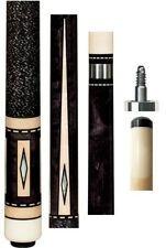 New Pechauer JP11-N Ebony Stained Cue - 12.00mm Shaft - FREE 2x2, Extras & SHIP