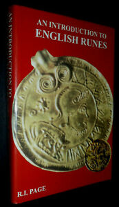 An Introduction to ENGLISH RUNES / R I Page | V/G HB, 1999