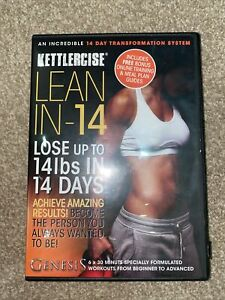 Kettlercise Lean In 14, 4 Disc DVD Collection -  Kettlebells