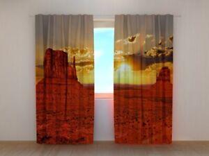 Fotogardine Arizona, Fotovorhang mit Motiv, Digitaldruck, Gardine auf Maß