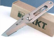 Couteau CRKT KISS MONEY CLIP TANTO Serrated Couteau CRKT Pince Billet CR5510