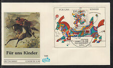 K-004) Germany 1996 First Day Cover  -  For us children