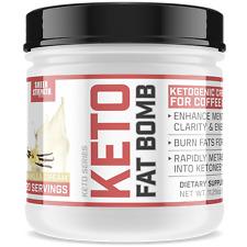 Healthy Keto Coffee Creamer with MCT Oil Powder & L Theanine | Ketogenic & Paleo