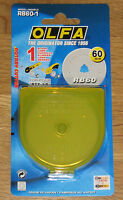 Olfa RB60 60mm Rotary Cutter Spare Blade ( fits RTY-3/G , RTY-3/DX and RTY-3NS )