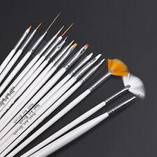 15pcs Nail Art Design Paint Dot Draw Pen Brush DIY Tool Set NB0002