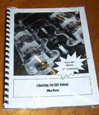 Adjusting the Honda CBX Valves - How To Booklet - Service Manual by Mike Nixon