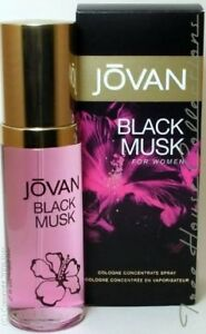 Treehousecollections: Jovan Black Musk Cologne Spray For Women 96.1ml