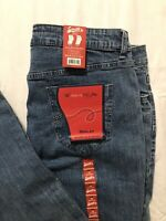 Smith's Dungarees The Marissa Fit Jeans Womens 14 Average Bootcut Stretch NWT