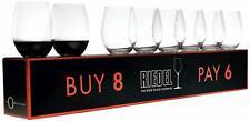 RIEDEL O Wine Tumbler Cabernet/Merlot Wine Glass, Pay 6 Get 8