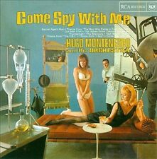 Come Spy with Me by Hugo Montenegro (CD, Oct-2002, RCA/import)