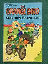 Walt Disney The Orange Bird In Nutritional Adventures Comic Book Rare 1980
