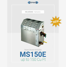 MS150E 6KW Steam Generator 150 Cu Ft Coverage by Mr.Steam - Best Deal!