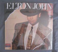 Elton John -Breaking Hearts- 1984 Mexican Lp Still Sealed Rock Pop