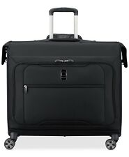 $440 Delsey Helium 360 Trolley Suiter Garment Bag Luggage Suitcase Black Spinner