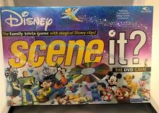 Disney Scene It? Dvd Game 2004 1st edition complete, new, sealed, damaged box